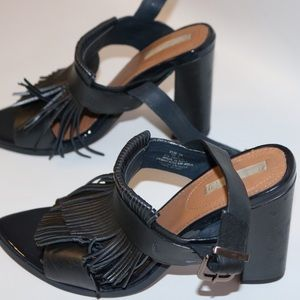 Navy Blue Heels- H&M
